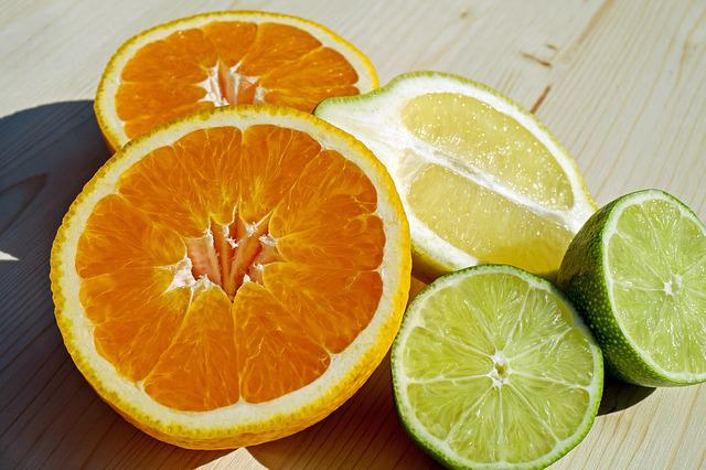 Fruit, Tropical Fruit, Citrus Fruit, Sliced, Orange