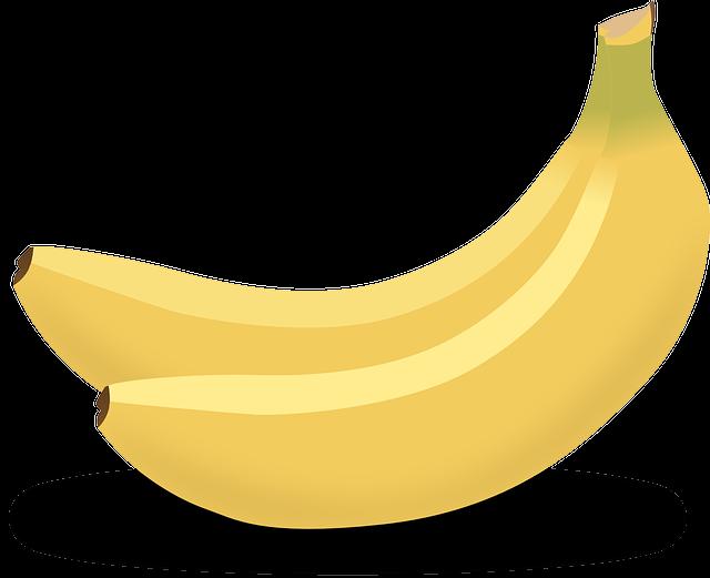 Bananas, Yellow, Tropical, Fruits, Food, Sweet, Healthy