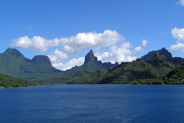 Moorea, French, Polynesia, Society, Island, Tropical