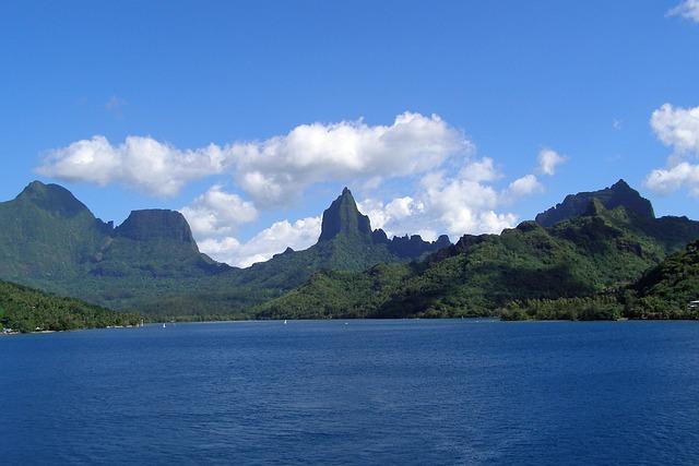 Moorea, French, Polynesia, Society, Island, Tropical