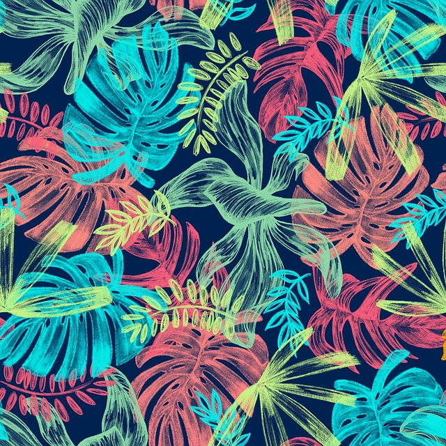 Leaves, Tropical, Picture, Plant, Green, Garden, Summer
