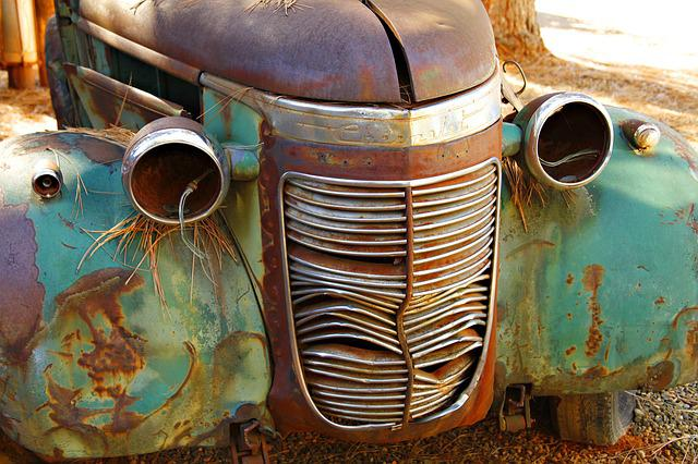 Chevy, Old, Vintage, Antique, Truck, Rust, Dirty