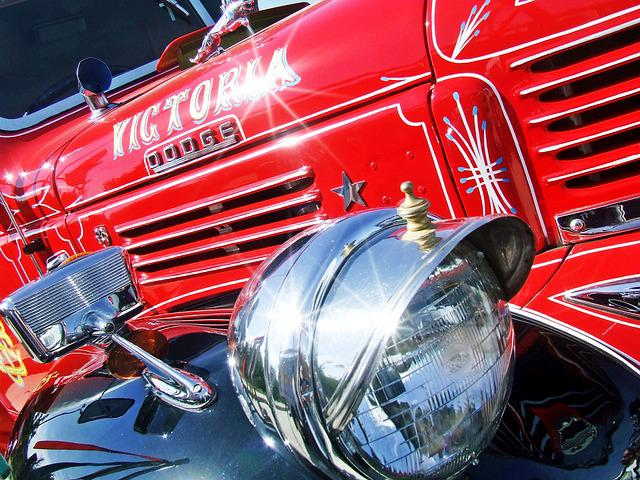 Truck, Vintage Truck, Red, Dodge, Lens Flare, Lorry