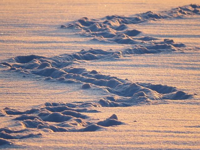 Snow Lane, Traces, Snow, Zig Zag, Trudge, Snow Tramp