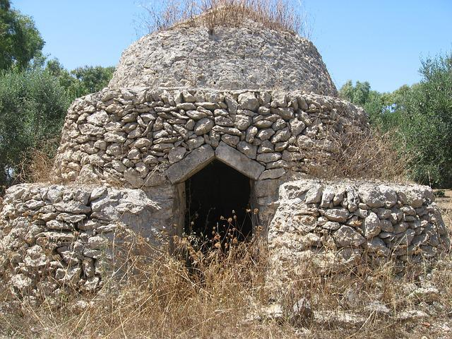 Trulli, Puglia, Campaign, Sun, Summer, Hot