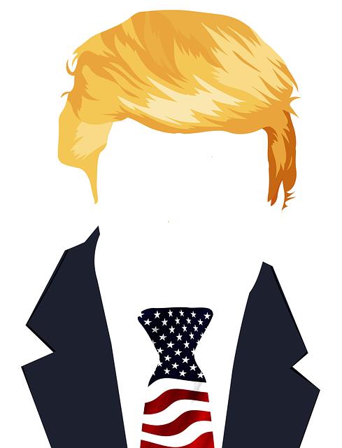 Trump, President, Usa, Flag, Star, Stripes, Abstract