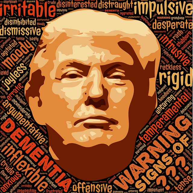 Dementia, Warning, Trump, Donald Trump, Alzheimers