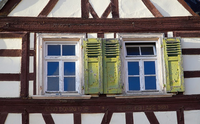Window, Truss, Fachwerkhaus, Building, Facade