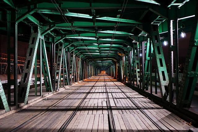 Warsaw, Bridge, Truss, River, Wisla, Poland, City