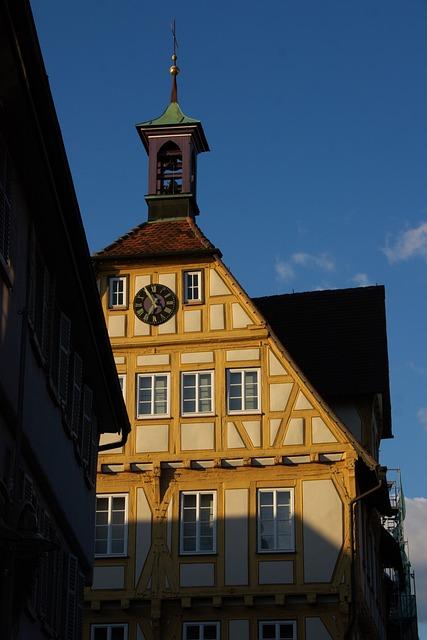 Truss, Fachwerkhaus, Old Town, Building, Sindelfingen