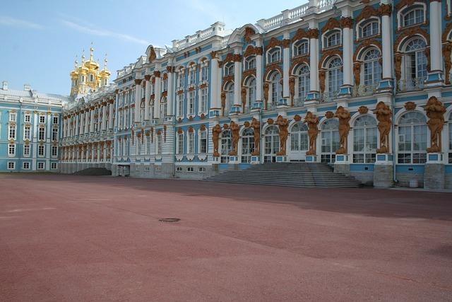 Tsarskoye Selo, Palace, St Petersburg, Russia