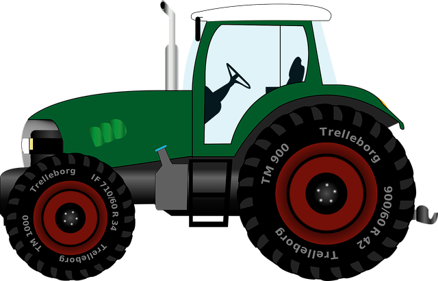 Tractor, Tug, Tractors, Agricultural Machine