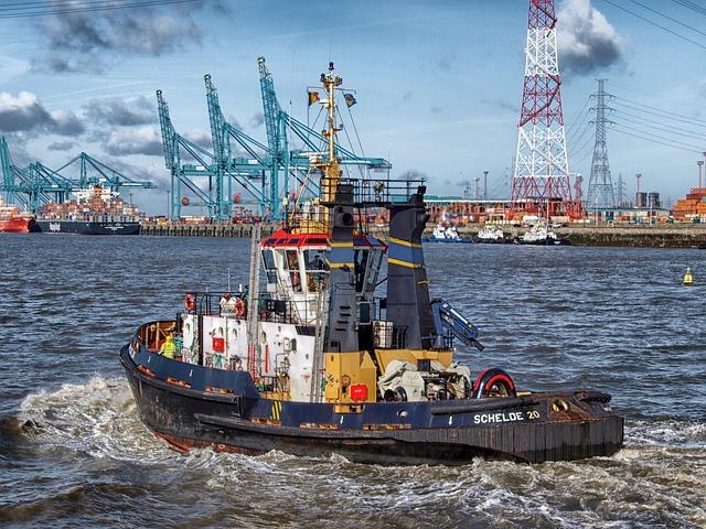 Boat, Bay, Harbor, Tug, Tugboat, Port, Water, Sea