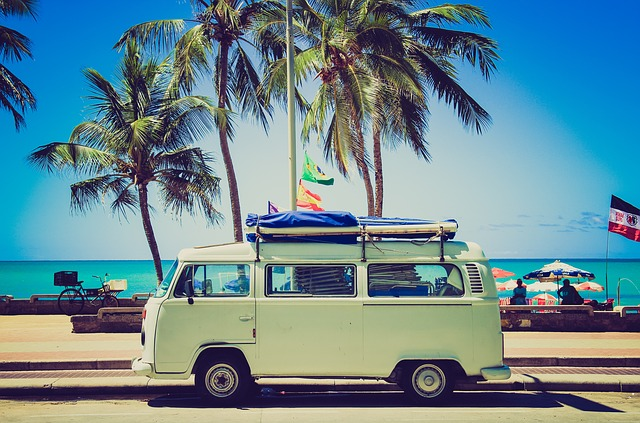 Van, Vintage, Beach, Cool Wallpaper, Tumblr Wallpaper