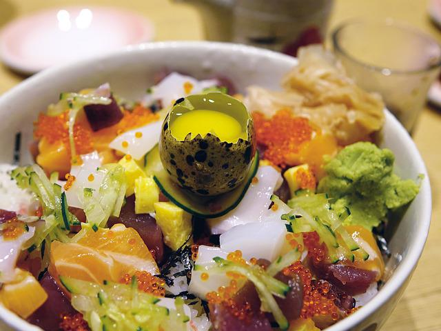 Sashimi, Salmon, Tuna, Fish, Seafood, Caviar, Japanese