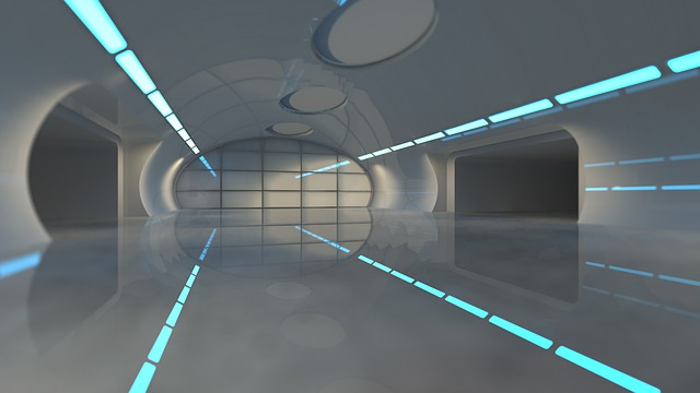 Space, Tunnel, Architecture, Futuristic, Corridor