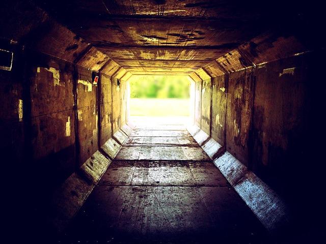 Light, Tunnel, Urban, City, Underground, Entrance