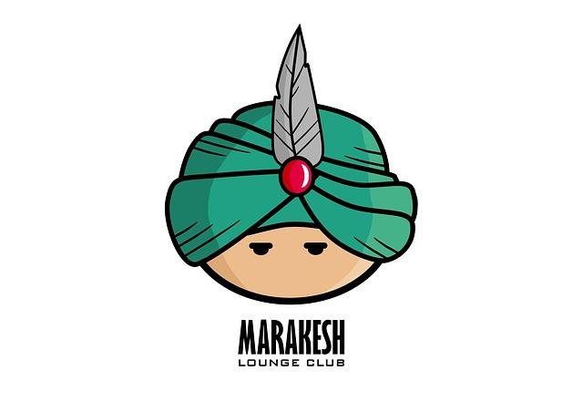 Logo, Hookah, Turban