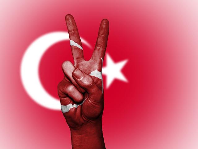 Turk, Turkish, Peace, Hand, Nation, Background, Banner