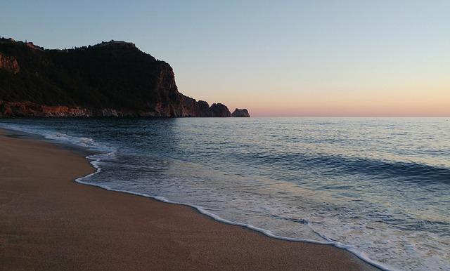 Beach, Alanya, Antalya, Marine, Turkey, Landscape