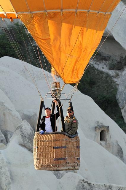 Hot-air Ballooning, Cappadocia, Turkey, Nacelle