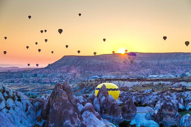 Turkey, Fairy Chimneys, Natural Landscape, Cappadocia