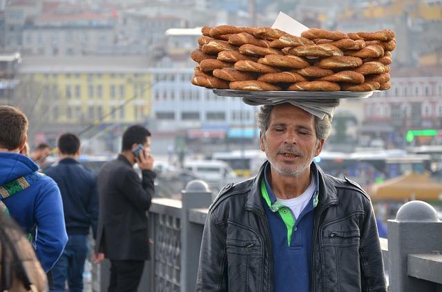 Bagel, Istanbul, Human, Turkey, Eminönü