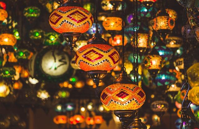 Lamps, Light, Culture, Istanbul, Turkey, Islam, Prayer