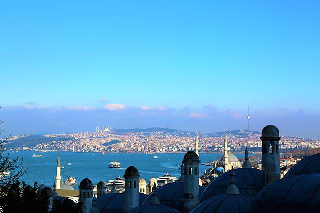 Istanbul, Marine, City, Mosques, The Minarets, Turkey