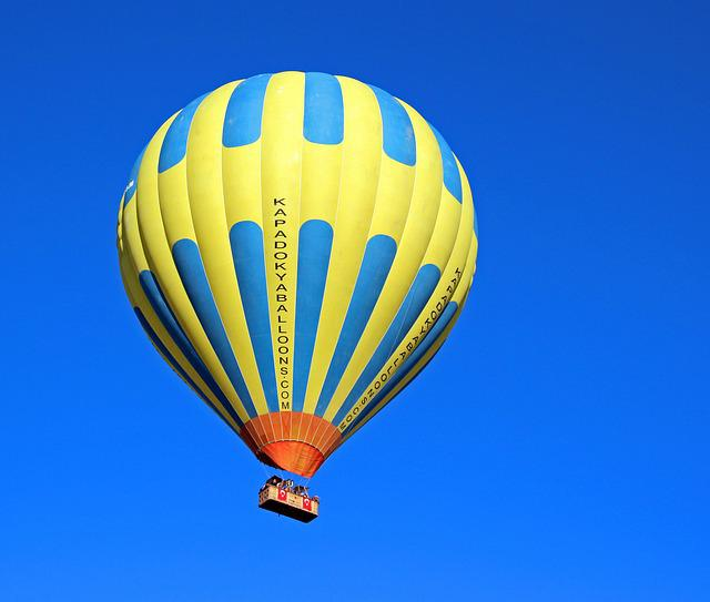Hot Air Balloon, Turkey, Capadokia, Scenic Flight