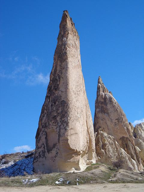 Rock, Cappadocia, Rocky Towers, Turkey, Tufa