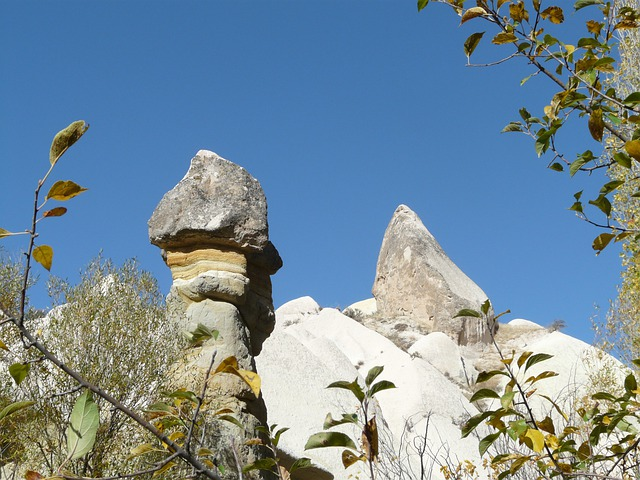 Valley Of Roses, Cappadocia, Fairy Towers, Turkey, Tufa