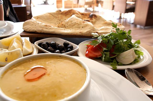 Turkish Food, Soup, Meze, Alanya, Dinner