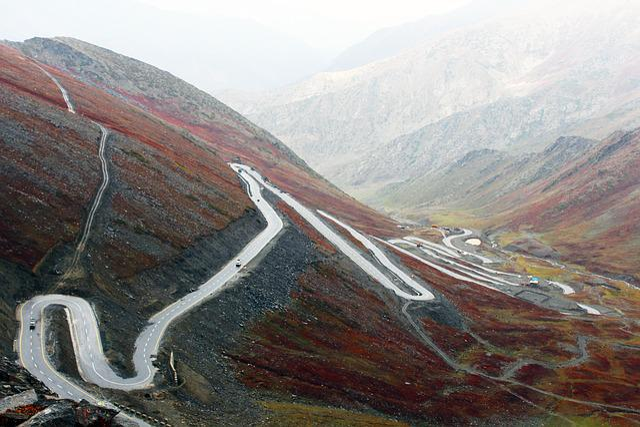 Road, Turn, Mountain Highway, Zig Zag Road, Mount