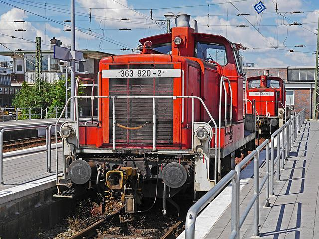 Shunting Locomotives, Diesel Locomotives, Turned Off