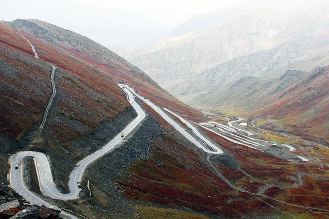 Hd Wallpaper, Road Image, Turning Mountain Highway