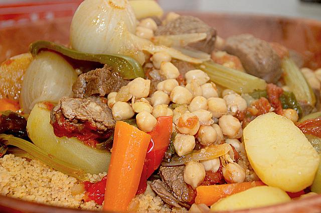 Couscous, Turnip, Carrot, Food, Poultry, Colors