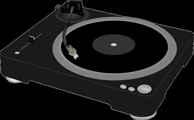 Record Player, Gramophone, Turntable, Vinyl, Music