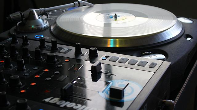 Turntable, Dj, Mix, Equipment, Mixing, Vinyl, Mixer