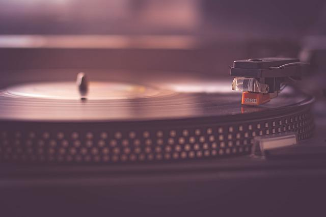 Turntable, Music, Record, Vinyl, Equipment, Black