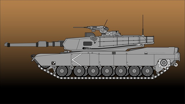 Tank, Abrams, Army, Military, Gun, Battle, Turret