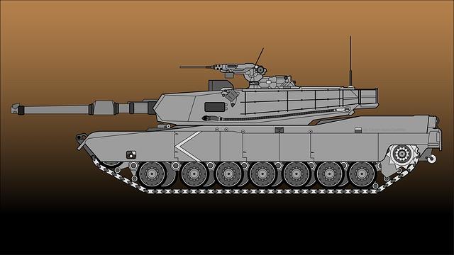 Tank, Abrams, Army, Military, Gun, Battle, Turret