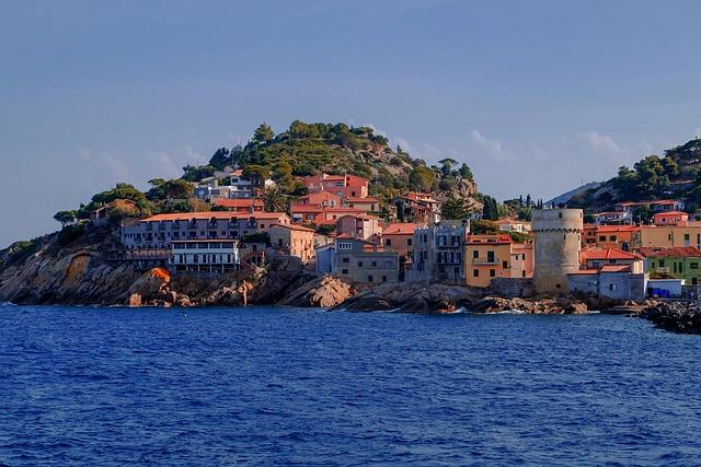 Giglio, Island, Mediterranean, Tuscan Archipelago