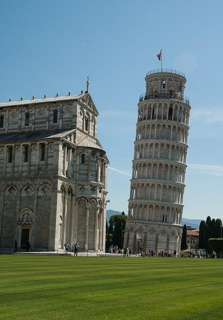 Italy, Pisa, Tuscany, Tower