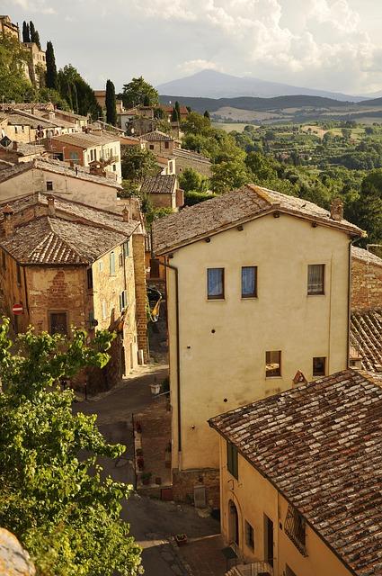 Montepulciano, Tuscany, Italy, Hill, The Vineyards