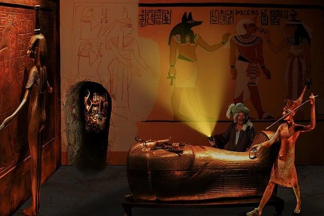 Egypt, Pharaonic, Grave Robber, Tomb, Tutankhamun