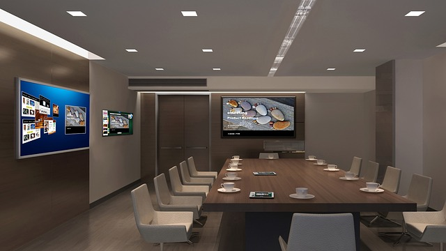 Interior Design, Tv, Multi-screen, Office