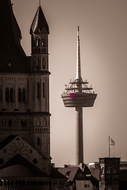 Tv Tower, Church, Radio Tower, Transmission Tower