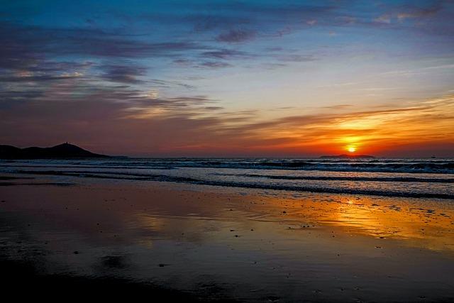 Sunset, Twilight, Dawn, Waters