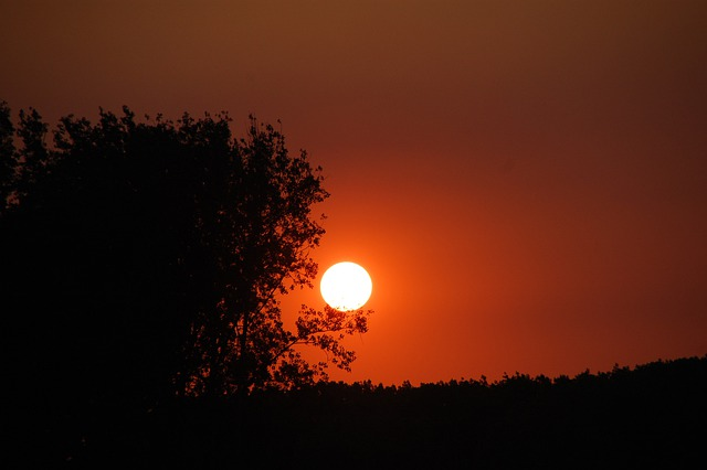 Sunset, Twilight, Evening, Sky